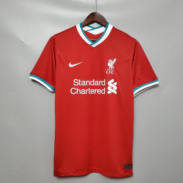 Camisa Liverpool 1 Nike Vermelha 2020 2021 Loja Eskanteio