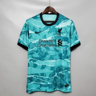 Camisa Liverpool 2 Nike Azul 2020 2021 Loja Eskanteio